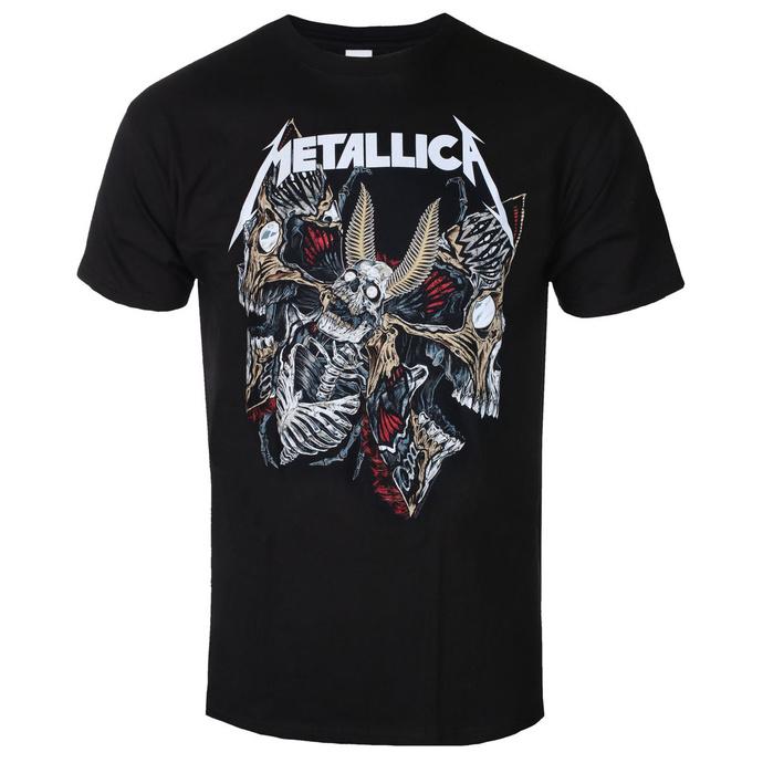 Moška majica Metallica - Skull Moth - ROCK OFF