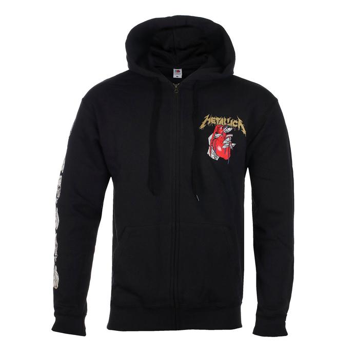 Moški hoodie Metallica - Heart Explosive