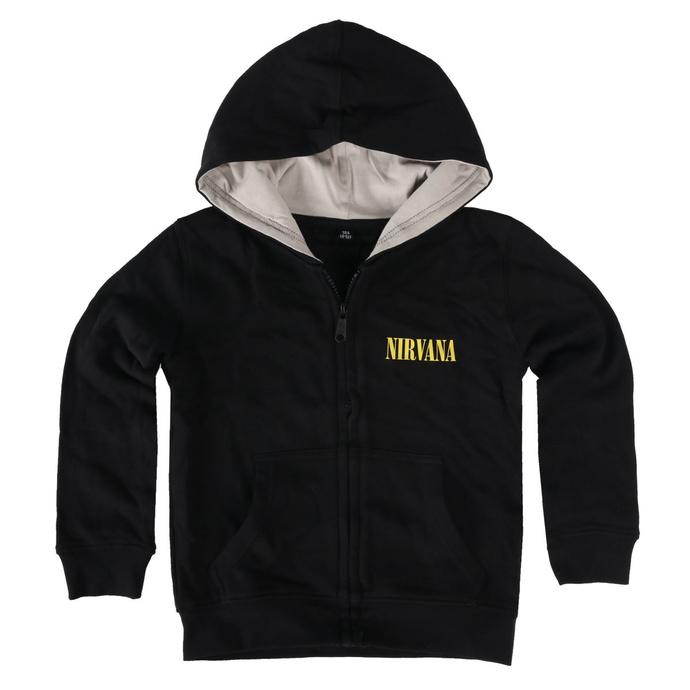 Otroški hoodie Nirvana - Smiley - Metal-Kids