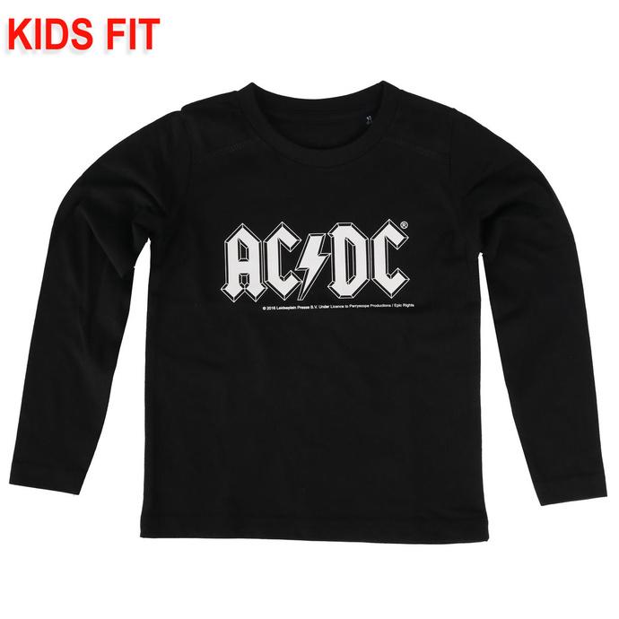 Otroška majica z dolgimi rokavi AC / DC - Logo - Metal-Kids
