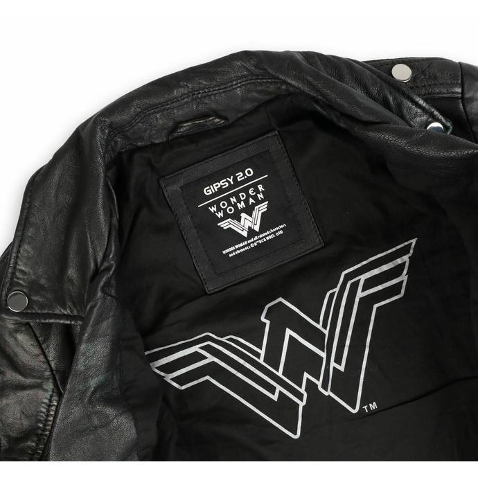 Ženska jakna (metal jakna) - WONDER WOMAN - LAMEV MET / BLK - M0010772 - POŠKODOVANO