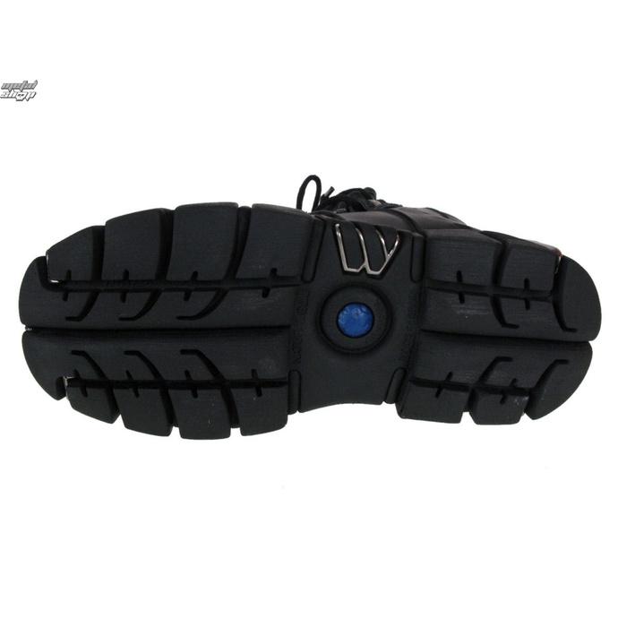 čevlji NEW ROCK - String Shoes (106-S1) Black - DAMAGED