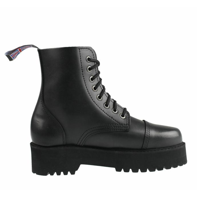 škornji STEADY´S - 8 očesc - Črna - STE/804_black - DAMAGED