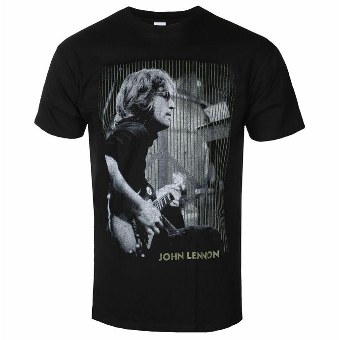 Moška majica John Lennon - Gibson BL - ROCK OFF