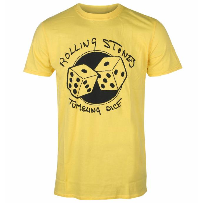 Moška majica Rolling Stones - Tumbling Dice YELL - ROCK OFF