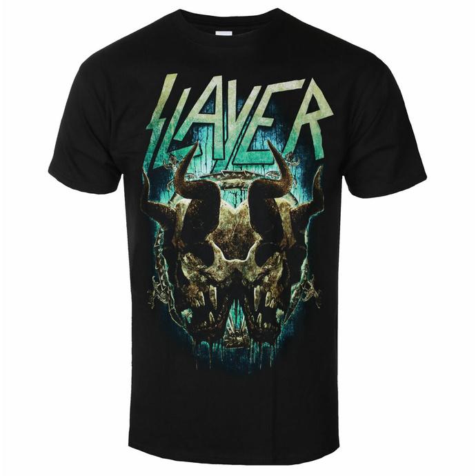 Moška majica Slayer - Daemonic Twin BL - ROCK OFF