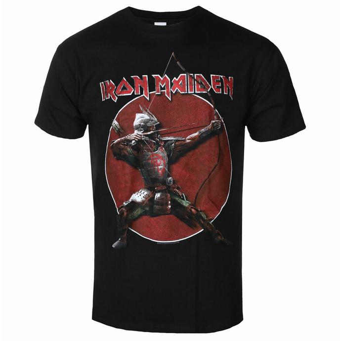 Moška majica Iron Maiden - Eddie Archer Red Circle BL - ROCK OFF