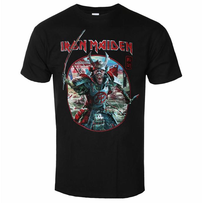 Moška majica Iron Maiden - Eddie Warrior Circle BL - ROCK OFF