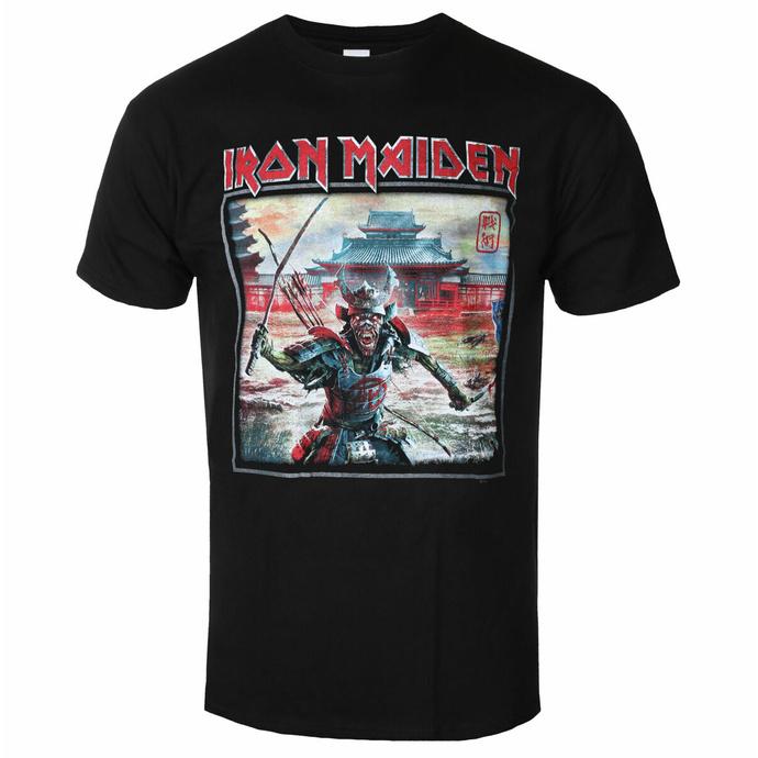 Moška majica Iron Maiden - Album Palace Keyline Square BL - ROCK OFF