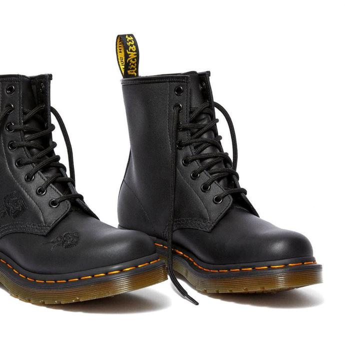 DR. MARTENS škornji - 8 vezalnih lukenj - 1460 VONDA MONO