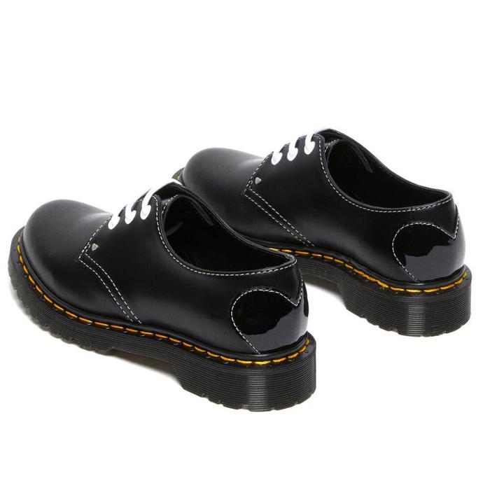 Ženski škornji DR. MARTENS - 1461 Hearts - črna