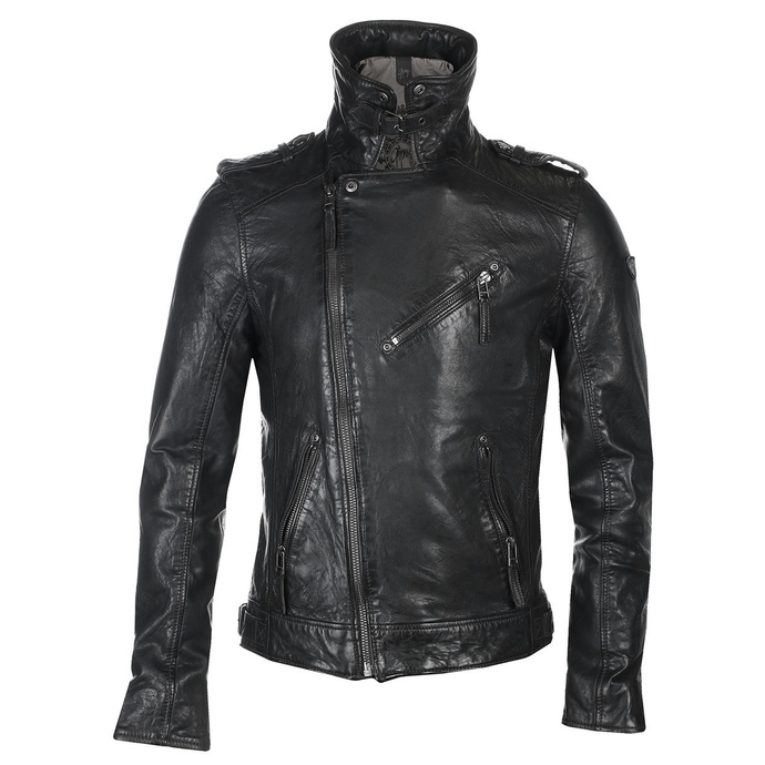 Moška (bajkerska) jakna GBMalic SF STUV - anthracite