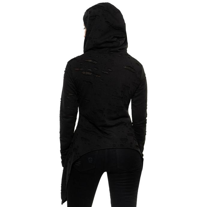 Ženska majica KILLSTAR - Hex Hooded - Črna