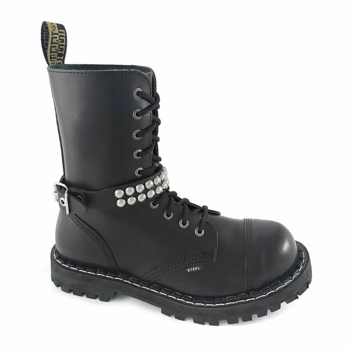 Opasnica za škorenj Leather boot strap with rivets