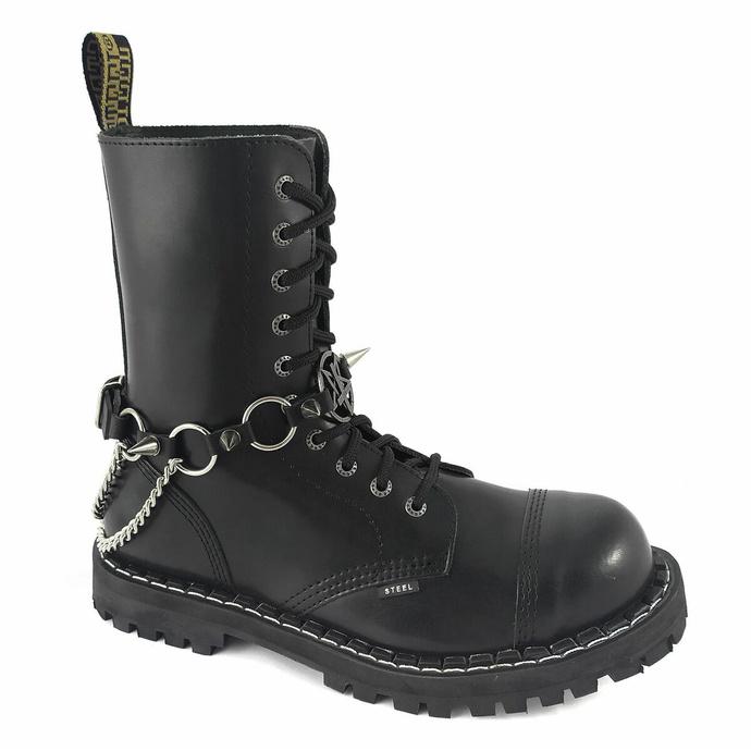 Opasnica za škorenj Inverted Cross rings Boot Strap