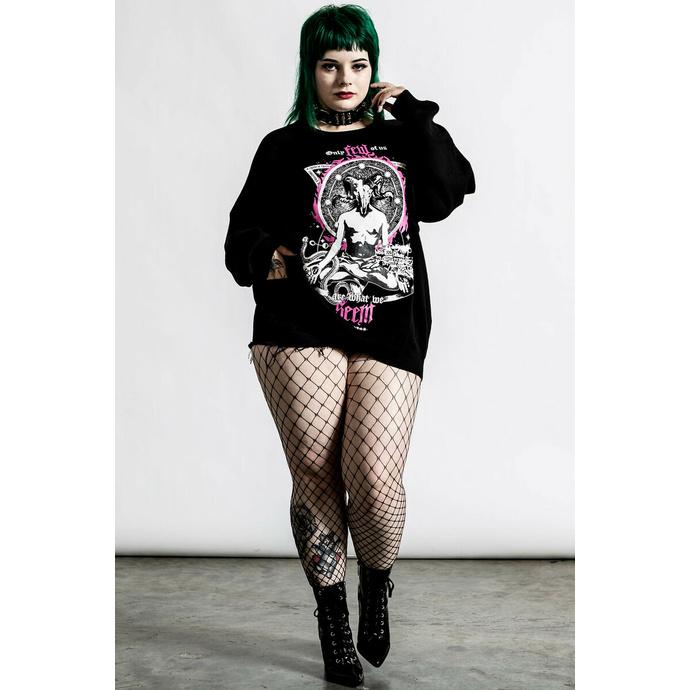 Ženski pulover KILLSTAR - Meditation Batwing - Črna