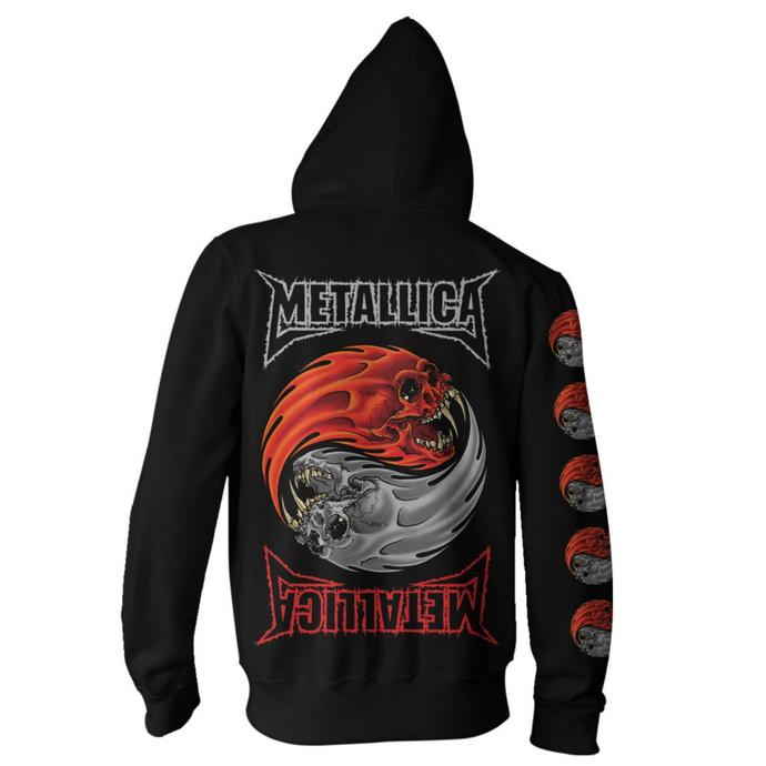 Moški hoodie Metallica - Yin Yang - Črna