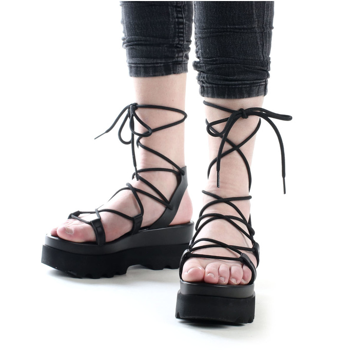 ženski čevlji (sandali) ALTERCORE - Sue - Črna