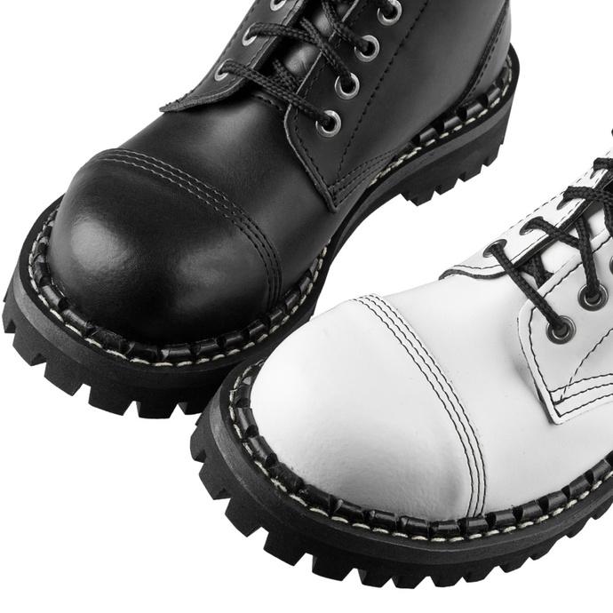 škornji STEADY´S - 10 očesci - Črna in bela