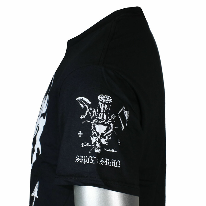 Moška majica Marduk - SRPNT SRMN - Črna - INDIEMERCH