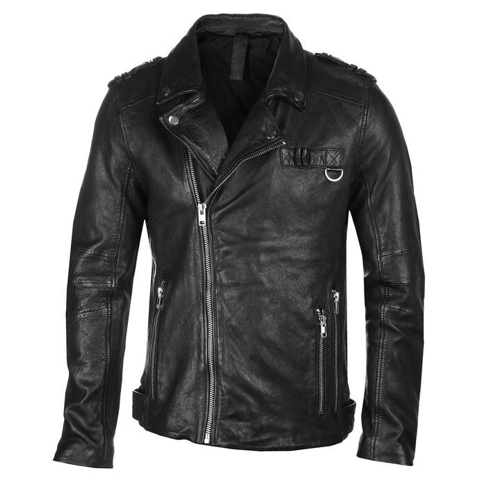 Moška (bajkerska) jakna G2BNoct SF SVATV - črna