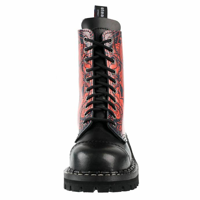 Škornji STEADY´S - 10-lukenj - Baphomet