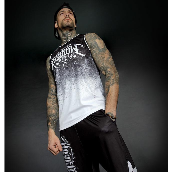 Moški top (dres) HYRAW - WHITE BLAZON