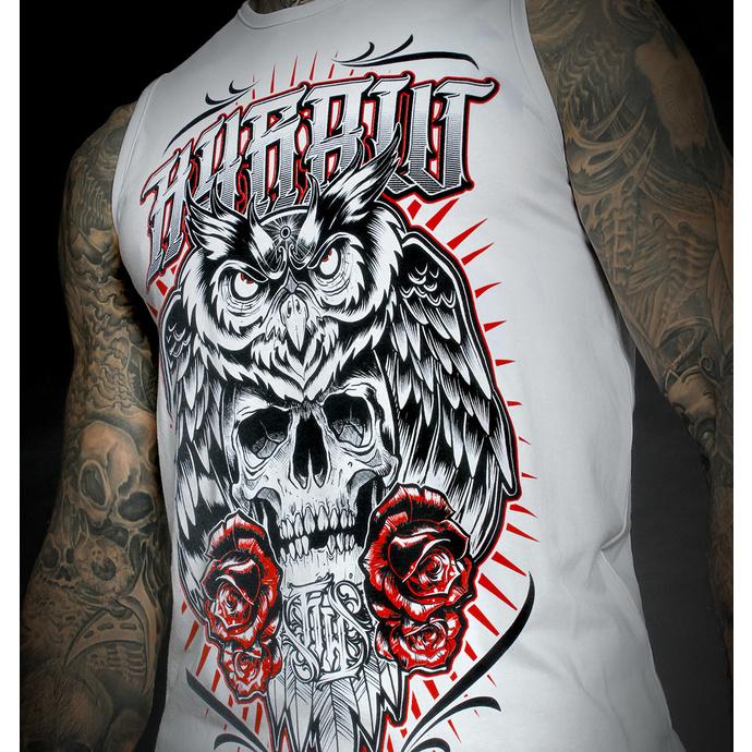 Moški top HYRAW - DEAD OWL - WHITE