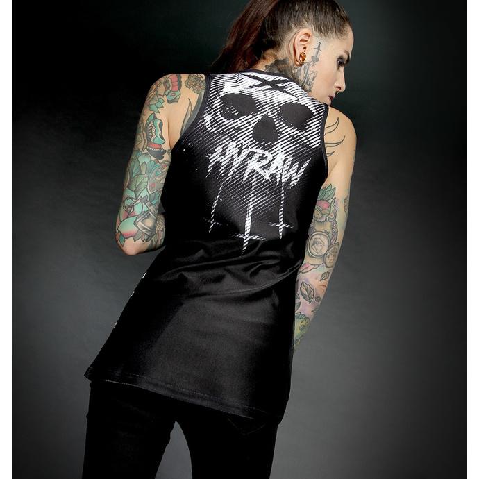Ženski top HYRAW - Graphic - BLACK STRIPES