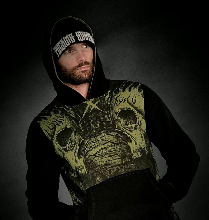 Moški hoodie HYRAW - CEMETERS