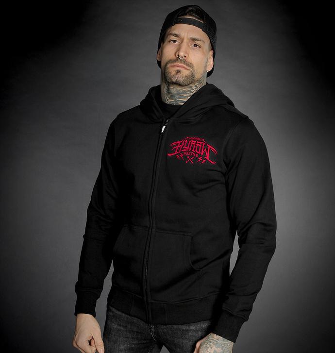 Moški hoodie HYRAW - CERBERE