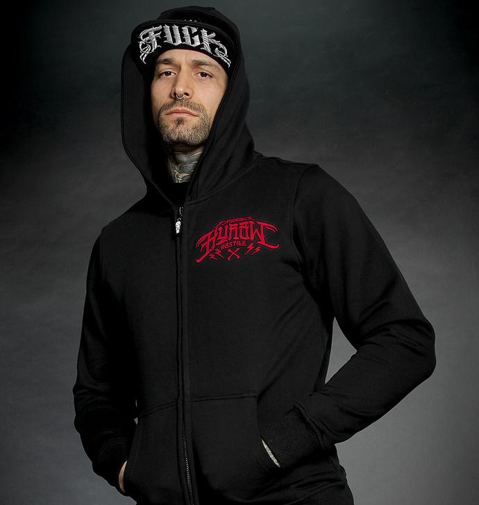 Moški hoodie HYRAW - LAND