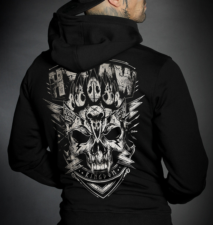 Moški hoodie HYRAW - VIKING