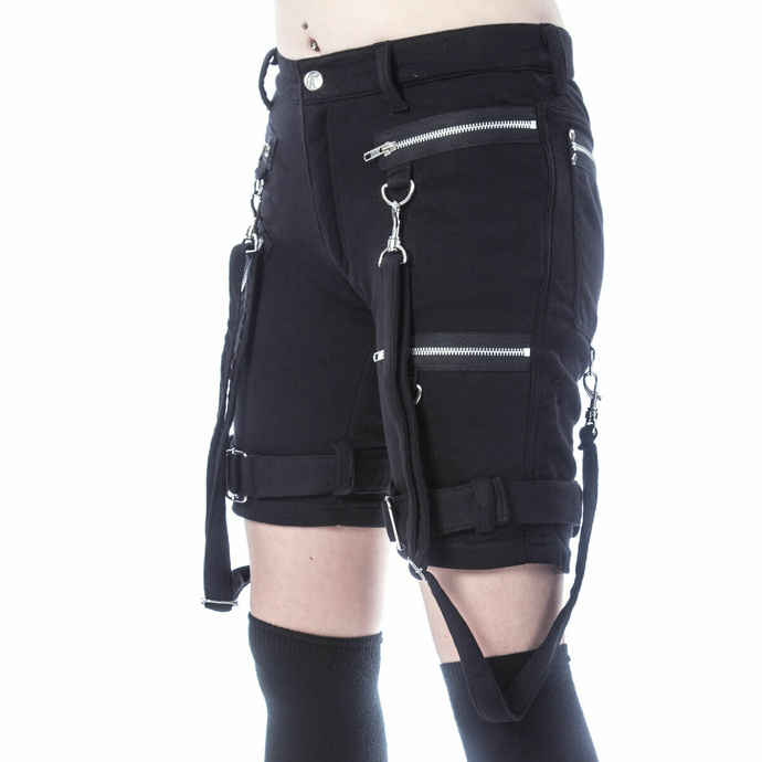Ženske kratke hlače (športne) CHEMICAL BLACK - RENITA - ČRNA