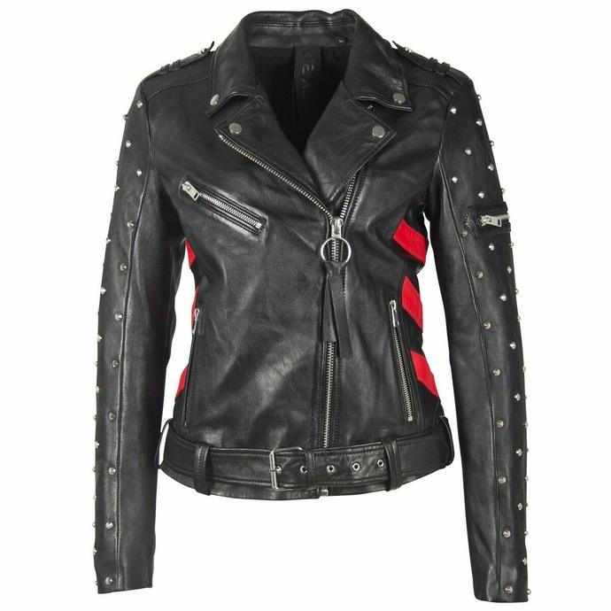 Ženska (motoristična) jakna 2 G2WTaly - SF LAROXV - Črna / rdeča