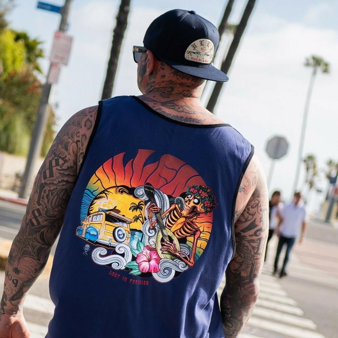 Moška Top majica SULLEN - LOST IN PARADISE