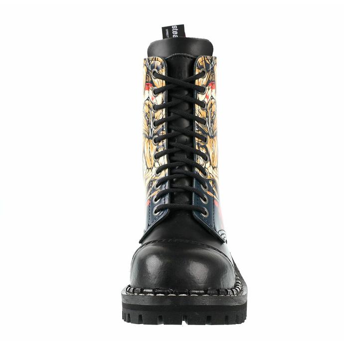 Škornji STEADY´S - 10 očesc - Skull