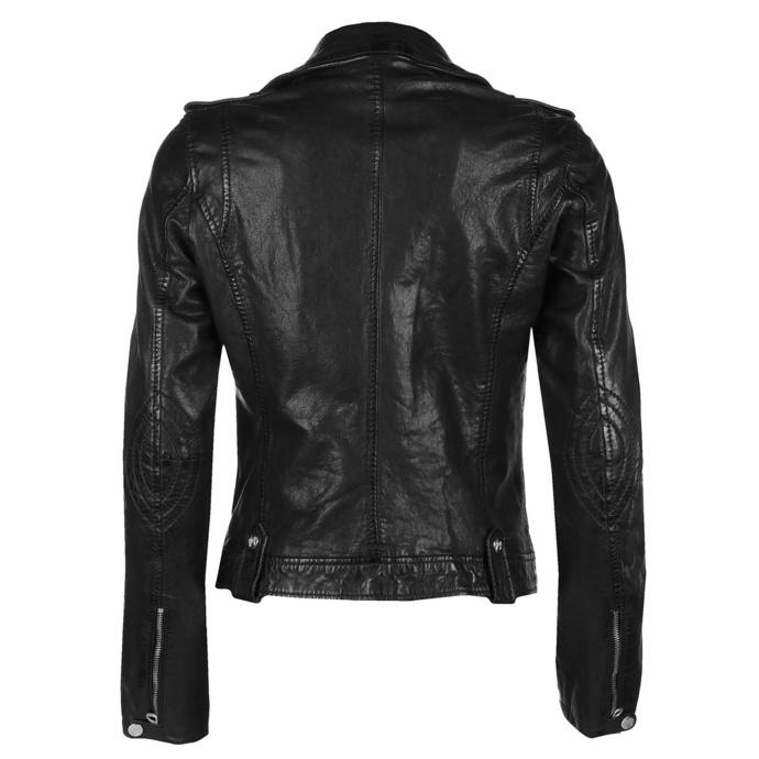 Ženska (bajkerska) jakna Famos LAOSV - črna