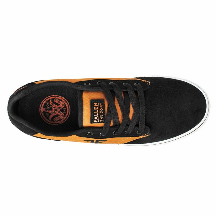 Moški čevlji FALLEN - The Goat Dk - Oranžna / Črna