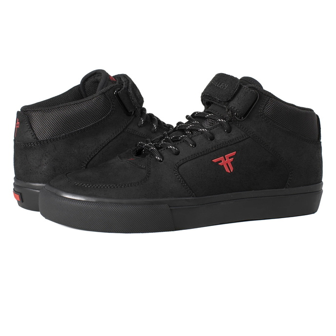MoškI čevlji FALLEN - Tremont (Mid) X Rds - Črna / Rdeča