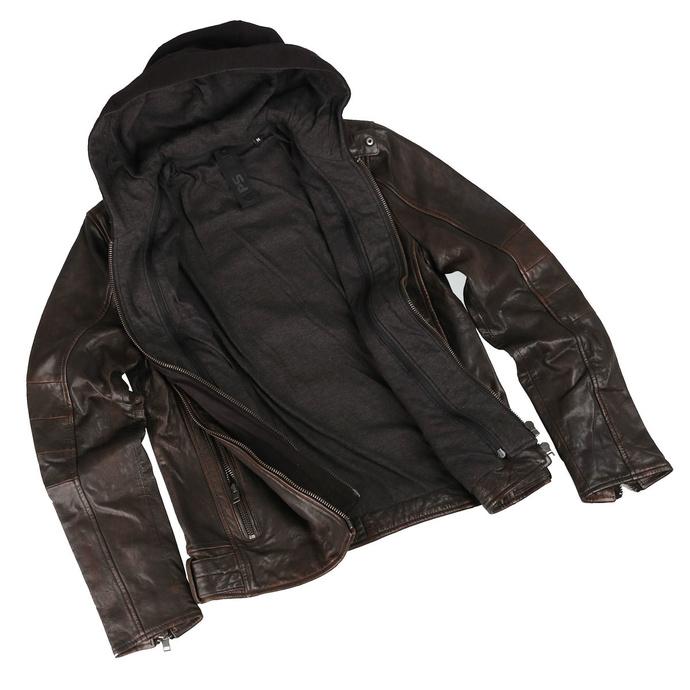 Moška jakna G2BLews SF LARETV - črna / rjava