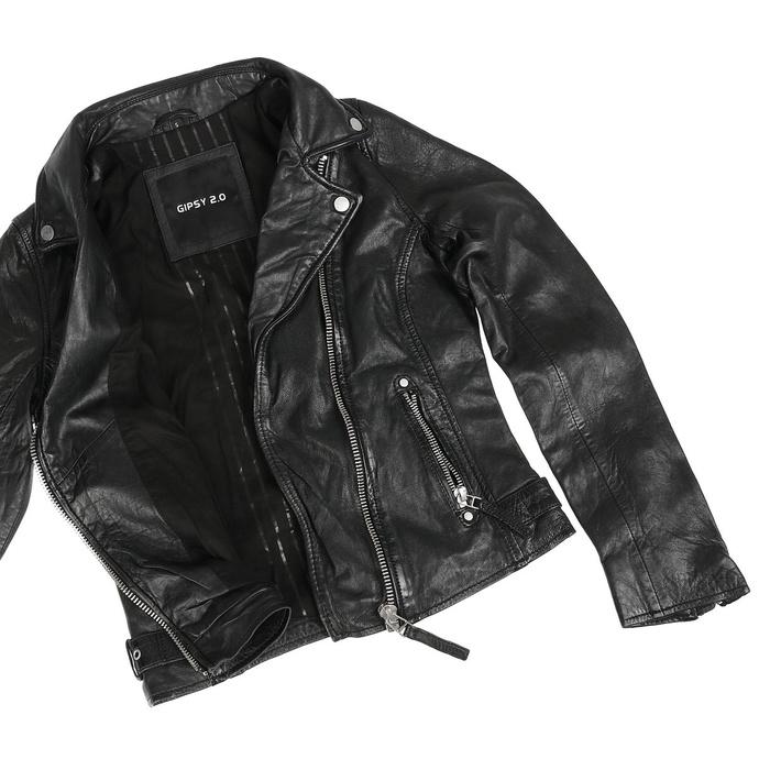 Ženska (bajkerska) jakna Piper P SF LVW - Črna