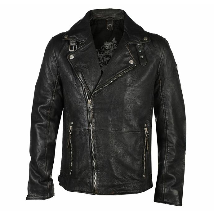 Moška (motoristična) jakna Mavric SF NSLV - Črna