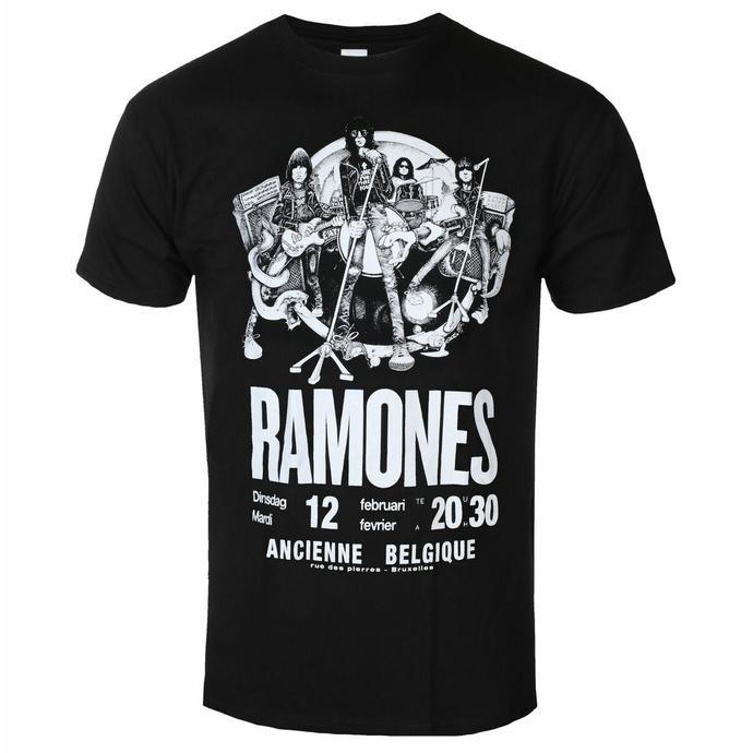 Moška majica Ramones - Belgium - ROCK OFF