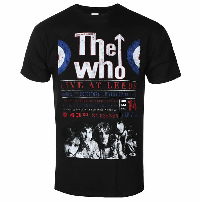 Moška majica The Who - Live At Leeds '70 - ROCK OFF