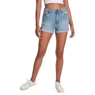 Ženske kratke hlače URBAN CLASSICS - lt. authenticblue washed, URBAN CLASSICS