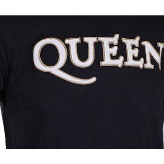 majica kovinski moški Queen - Logo & Crest - ROCK OFF, ROCK OFF, Queen