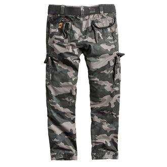 Moške hlače SURPLUS - PREMIUM SLIMMY - BLACK CAMO, SURPLUS