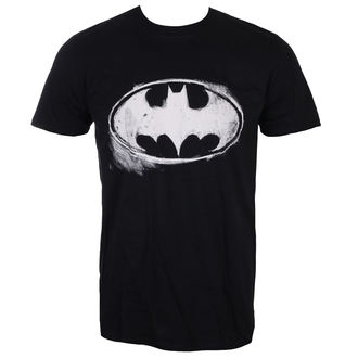 Moška filmska majica Batman - LOGO MONO DISTRESSED - LIVE NATION, LIVE NATION