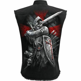 Moška srajca brez rokavov (telovnik) SPIRAL - VALIANT - Črna, SPIRAL